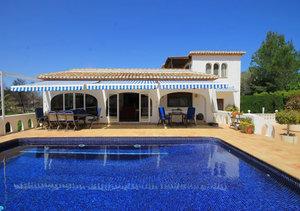 Javea 4 bedroom villa for sale Cap Marti