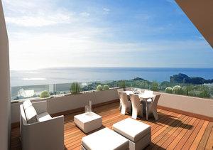 Benitachell Cumbre del Sol 2 Bedroom Sea View Penthouse for Sale