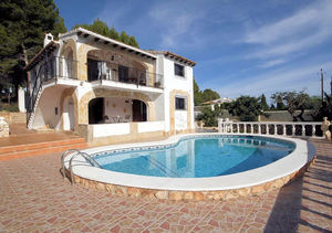 Benissa 4 Bedroom Sea View Villa for Sale