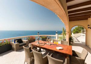 Javea Ambolo Sea Front 6 Bedroom Villa for Sale with Spectacular Sea Views