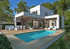 Moraira Sea View New Build Property for Sale