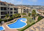 Javea Port Townhouse for Sale with tennis court and indoor pool