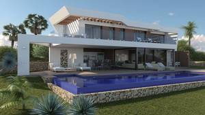 Moraira Villa for Sale with Sea Views 700 metres to the sea