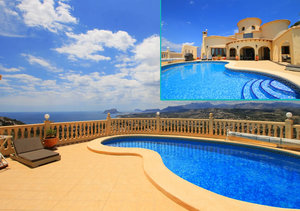 Benitachell 4 Bedroom Property with Stunning Sea Views for Sale