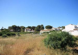 Javea building plot for sale close to Cabo la Nao lighthouse