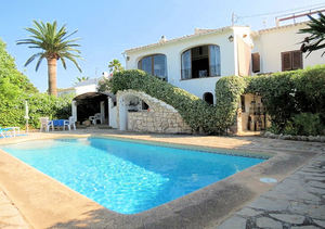 Javea Toscal Sea View 3 Bedroom Villa for Sale