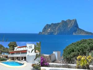 Moraira 4 Bedroom Sea View Villa for Sale