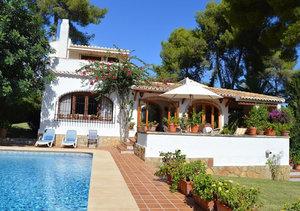 Javea Tosalet 4 Bedroom Villa for Sale
