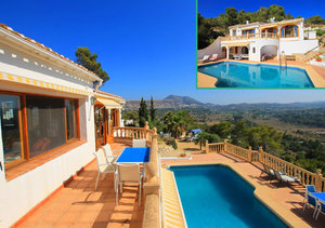 Rafalet Javea 4 Bedroom Villa for Sale with Montgo Views