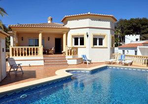Moraira Villa for Sale Walk to Algas Beach