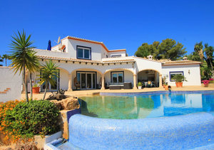 Javea Adsubia 4 Bedroom Sea View Property for Sale