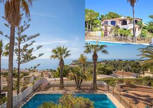 Javea Balcon al Mar Sea View Villa for Sale