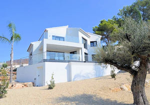 Javea Rafalet new build modern property for sale with lovely views