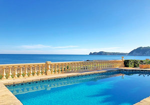 Javea Sea Front 6 Bedroom Villa for Sale