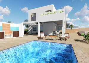 Javea Portichol Modern New Build 4 Bedroom Villa for Sale