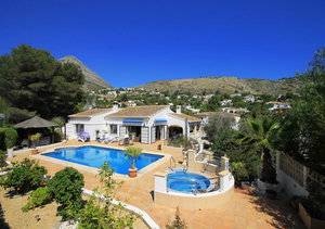Javea 5 bedroom property for sale Montgo Castellans