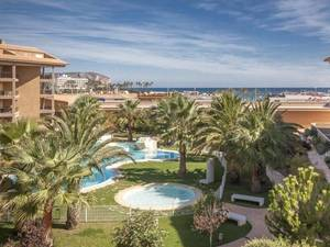 For sale modern apartment with sea views in Arenal Javea