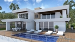 Moraira luxury new build villa for sale