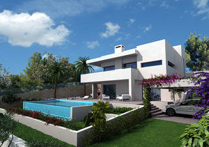 Benissa villa for sale close to golf course