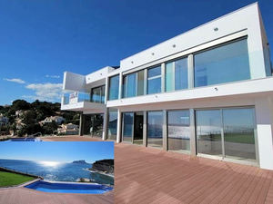 Benissa Sea Front Villa for sale with direct access to the sea