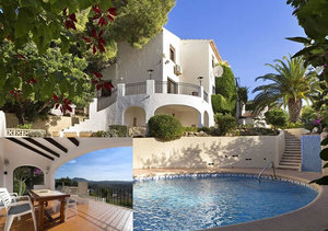 Javea Rafalet 4 Bedroom Property for Sale with Valley Views