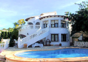 Moraira Pla del Mar 5 Bedroom Villa for Sale
