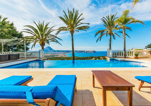 Javea Portichol Luxury 5 Bedroom Sea View Property