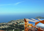 Cumbre del sol sea view apartment for sale with spacious terrace