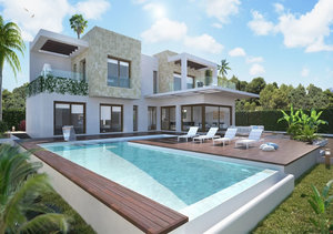 Javea 4 Bedroom Suite Modern New Build Property for Sale