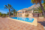 5 Bedroom south facing Montgo Property Javea