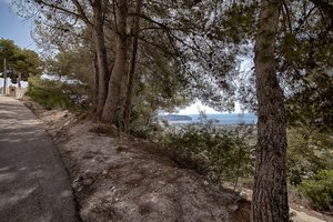 Plot for sale in Moraira