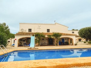6 bedroom Finca for sale in Javea