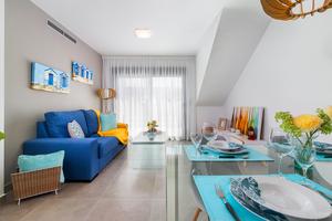 Key ready Fully furnished 2bed 2bath top floor  + Solarium