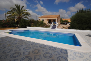A superb three bed two bath villa with it´s own little Casita!