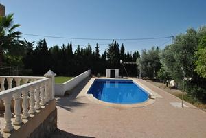 3 bed 2 Bath detached villa on huge countryside plot.