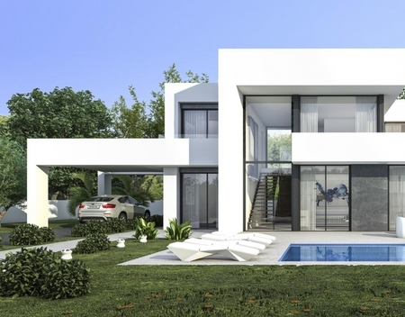 Project for a Luxury Modern Villa in Jávea