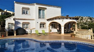 Villa for sale in Benissa
