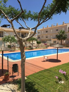 Well located 3 bedroom townhouse in Villamartin
