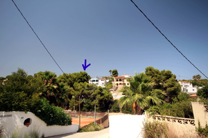 Plot for sale in Benissa